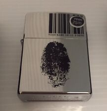 New In Box ZIPPO Wind Proof Lighter # 20836 Finger ID  Made In USA