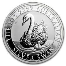 2018 Australia Swan 1 oz 9999 Silver Coin - Perth Mint - Mintage 25,000