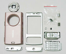Full Facia case fascia housing cover for Nokia N95 faceplate pink n 95