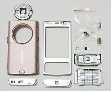 Full Facia case fascia housing cover for Nokia N95 faceplate pink n 95