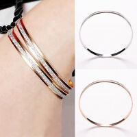 Frauen Charm Armreif Armband Armband Manschette Bling Lady Geschenk ArmbänderXUI