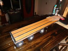 Smith miller custom Flatbed with spread Axle by  Vern White