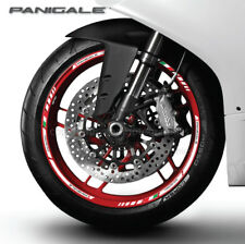 Panigale 899 959 motorcycle wheel decals rim stickers stripes for Ducati Corse