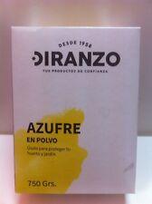 AZUFRE EN POLVO MICRONIZADO 750 GRAMOS FUNGICIDA ACARICIDA