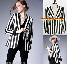 Regular Dry-clean Only Striped Coats & Jackets for Women