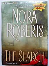 The Search by Nora Roberts (2011, 6 CD, Abridged) New -...