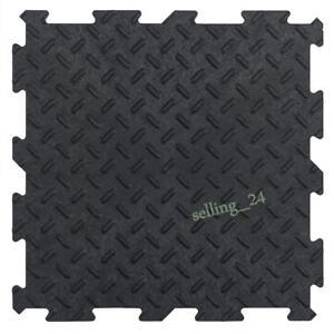 Garagenboden PVC Fliesen Garage Werkstatt Anti-Rutsch Oberfläche Klick-System