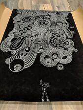 Emek Sonic Youth Black Velvet Print