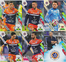 PANINI FOOTBALL 2014 2015 ADRENALYN CARDS LOT DE 6 CARDS MONTPELLIER