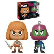 Masters Of The Universe He-Man y Trap Jaw Vynl Figura Funko