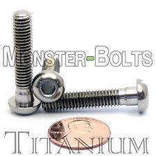 TITANIUM M6 x 30mm - DIN 9427 BUTTON HEAD Socket Cap Screw - BHCS - Ti Hex Allen