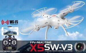 Syma X5SW-V3 RC Quadcopter Drone - New in Box
