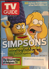 TV-GUIDE April 21-May 4 2014 Double Issue The Simpsons Lego Marge & Homer