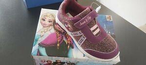 Frozen scarpe bambina nuove scatolate originali numero 32 Viola