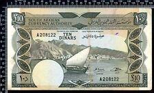 République Démocratique du Yemen / 10 Dinars 1967 / TTB