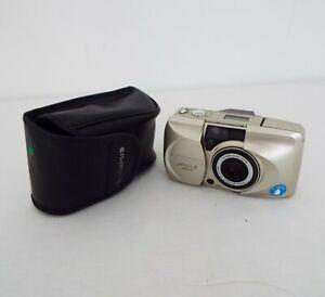 Olympus mju II Zoom 170 - Retro Film camera - Silver colour with case