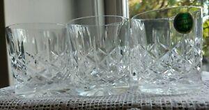 Set of 6 Edinburgh Crystal 'Holyrood' Whisky Glasses/Tumblers