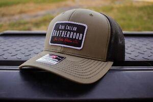 """Blue Collar Brotherhood"" Richardson 112 Patch Hat (Blue Collar Worker)"