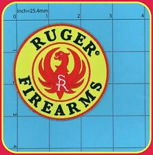 RUGER Patch Iron on Firearms Guns Pistol Safe Action Handgun Police American 30