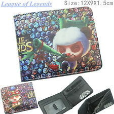 League of Legends Teemo Herren Geldbörsen Leder Portemonnaie Wallet Coin Purse