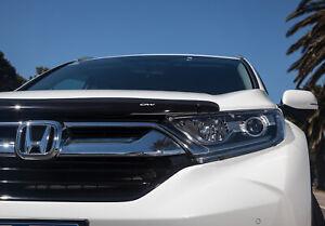 Genuine Honda CRV Bonnet Protector Black Tinted Bonnet Guard 06/2017-Current