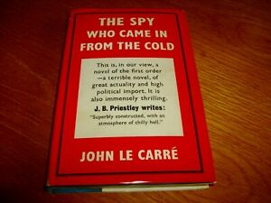 JOHN LE CARRE-THE SPY WHO CAME IN FROM THE COLD-SIGNED-1964-HB-G-GOLLANCZ-V RARE
