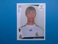 Panini Champions League 2009 2010 N.166 GUTI REAL MADRID