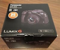 *NEW Panasonic LUMIX G7 16.0 MP Digital SLR Camera BLACK w/14-42mm Lens DMC-G7KK