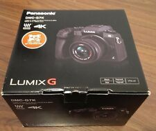 *NEW Panasonic LUMIX G7 16.0 MP Digital SLR Camera BLACK w/14-42mm Lens DMC-G7KK