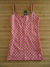 NEW ... ABERCROMBIE & F ..Woman's Tank Top.. Size S  Slim fit    Pink