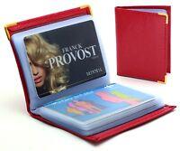 Étui à cartes Porte-cartes Homme Femme en cuir simple et pratique