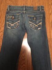 BKE Women's Stella Stretch Blue Jeans Measures 28 X 30.5     F36