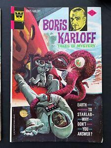 BORIS KARLOFF TALES OF MYSTERY #56 WHITMAN COMICS 1974 FN/VF