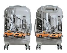 Maleta pequeña para cabina rígida fantasia taxi 4 ruedas dobles 360º nuevo