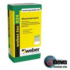 weber.tec 934 Wassersperrputz  Sperrputz Ausgleichs Putz  25 kg