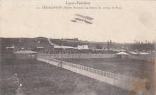 LYON BRON AVIATION AVION 21 aérodrome legagneux biplan sommer