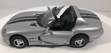 Dodge Viper RT/10 1:24 Scale Silver/Black