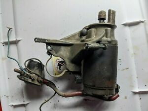 Johnson Evinrude Starter Bracket and  Solenoid 320012 20 25 30 35 HP
