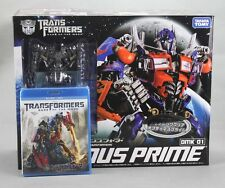 TRANSFORMERS Exclusive DMK01 Optimus Prime Clear Crystal ver 1/35 w/ Blu Ray DVD