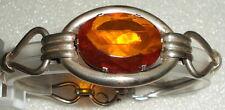 Fantastico BRACCIALE di 835er argento firmato con succinico/Amber (da2002)