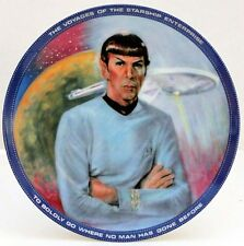 Star Trek Mr. Spock Hamilton Collection Plate 1983