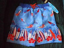 SWIMWEAR...BOYS ARIZONA  (SIZE 5)  100 % POLYESTER  (NEW WITH TAGS)