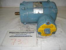 Electra XP motor NM25ETC11, .25hp, 1170rpm, 143TC frame, 230/460, 3ph, NM143TC