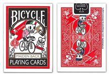 CARTE DA GIOCO BICYCLE TOKIDOKI MAIDEN BACK,poker size