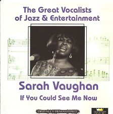 Sarah Vaughan - If You Could See Me Now [2 CD Set]