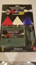 Vintage Fader Control Box Foremost's Magical Christmas Light E125409 *Jr