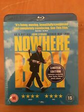 Nowhere Boy Blu-Ray -Kristin Scott Thomas, Sam Taylor-Wood (DIR) Factory Sealed