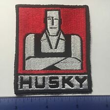 Bolens FMC Husky Man Garden Lawn Tractor Patch iron on sew on art logo decal red