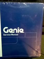 GENIE Z-80/60 SERVICE MANUAL -- NEW WRAPPED -- #88619