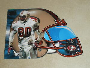 1998 Pacific Aurora Face Mask Cel-Fusions Die Cut #17 Jerry Rice